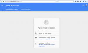 etape 1 reclamer la propriete page google local